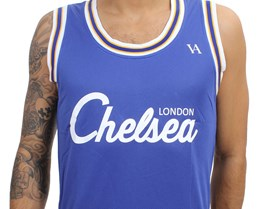 Chelsea 2-in-1 Reversible Jersey Vest - Vincentius Apparel