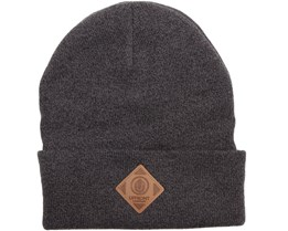 Official Fold Beanie Black/Light Grey - Upfront