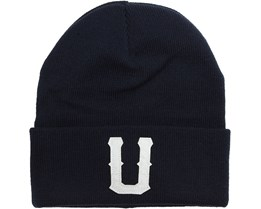 Union Beanie Dark Navy - Upfront