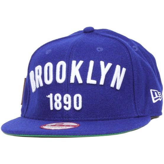 Keps Brooklyn Dodgers Coop Patch 9Fifty - New Era - Blå Strapback