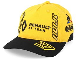 Renault F1 Hulkenberg Yellow/Black Adjustable - Formula One