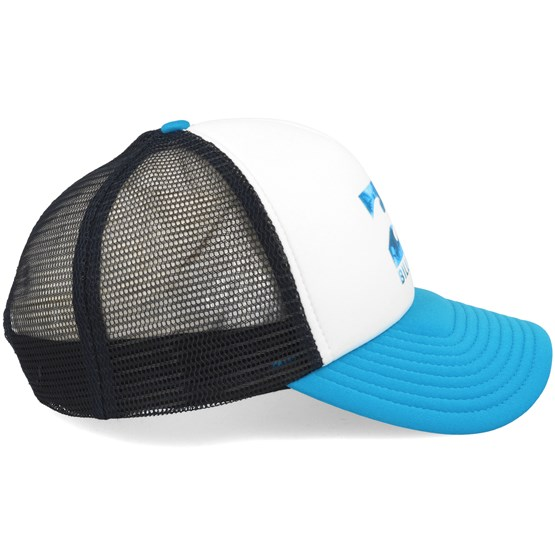 Podium Trucker White Cyan Adjustable - Billabong - Start Boné - Hatstore 67dc1615d65