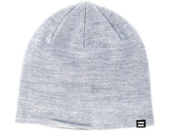 4888e016b6d All Day Heather Grey Beanie - Billabong beanies