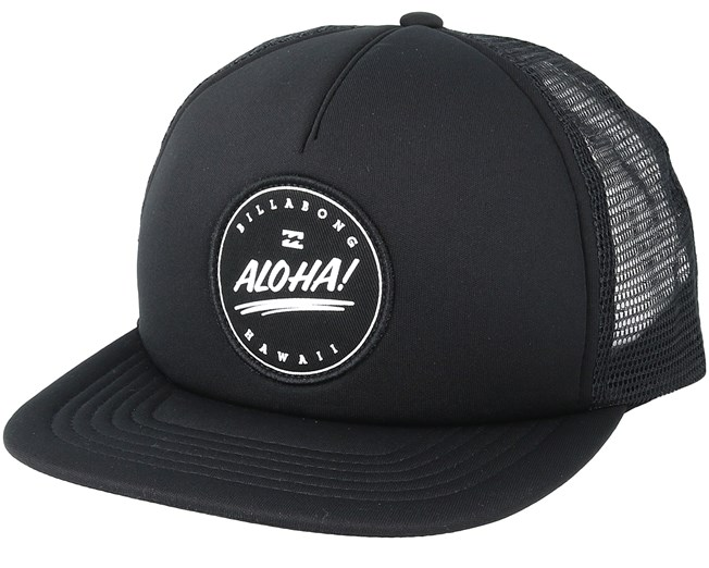 Aloha Black Trucker - Billabong - Start Boné - Hatstore 6da0659c032