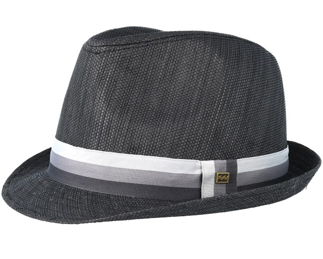 19dd9a2d08181 Stroll Black Trilby - Billabong hats