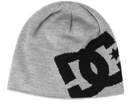 Big Star Headwear Grey Beanie - DC