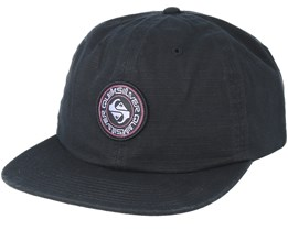 Close Caller Black Snapback - Quiksilver