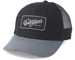 Blocked Out Black Trucker - Quiksilver