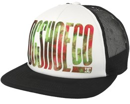 Trippy White/Black Trucker - DC