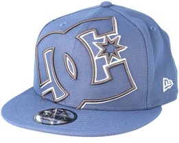 Double Up Blue Snapback - DC