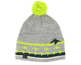 Kids Barrow Grey/Green Pom - Quiksilver