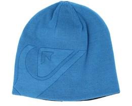 0f078d237 M&W Blue Beanie - Quiksilver