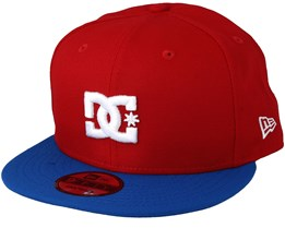 Empire Fielder Red/Blue/White Snapback - DC