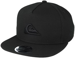 Stuckles Black Snapback - Quiksilver