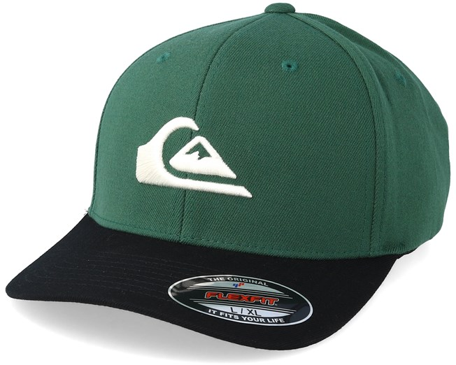 quality design 42705 de543 Mountain And Wave Green Dark Blue Flexfit - Quiksilver caps ...