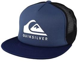 Foamslay Blue/Black Trucker - Quiksiver