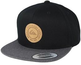 Hawkers Black/Charcoal Grey Snapback - Quiksilver
