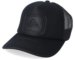 new style 7011a 9d6dc Squashed Banana Black Trucker - Quiksilver