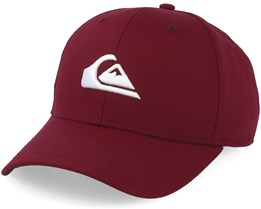 Decades Maroon/White Adjustable - Quiksilver