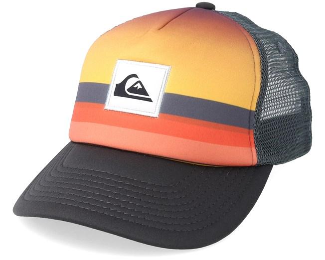 7f5204871bdf06 Kids Sets Coming Orange/Charcoal Trucker - Quiksilver caps ...