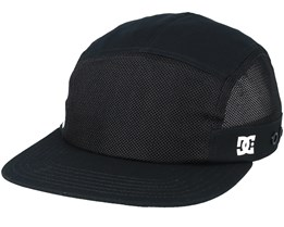 Mnt Camper 5-Panel Black Earflap - DC