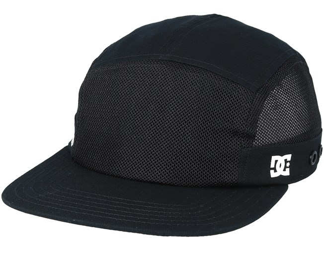 3f081c54345 Mnt Camper 5-Panel Black Earflap - DC caps