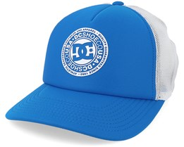 Kids Vested Up By Blue/White Trucker - DC
