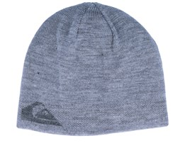 M&W Reversible Grey/Black Traditional Beanie - Quicksilver