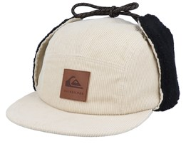 Winter Beige/Black Ear Flap - Quiksilver