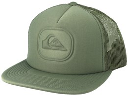 Heat Pinch Olive Trucker - Quiksilver