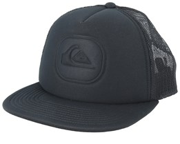 Heat Pinch Black Trucker - Quiksilver
