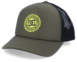 Vested Up Military Green Trucker - DC