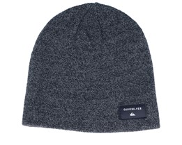 Coshy Heather Black Beanie - Quiksilver