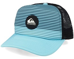 Kids Tijuana Caribbean Sea/Black Trucker - Quiksilver