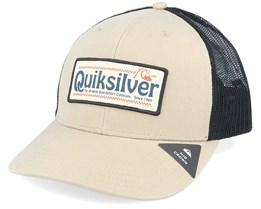 Big Rigger Plage Khaki/Black Trucker - Quiksilver