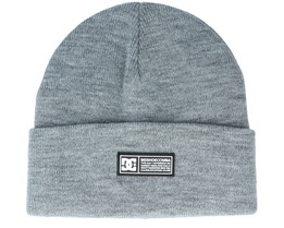 Label Youth Beanie Frost Gray Cuff - DC