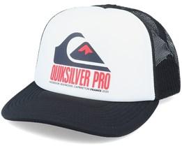 Quik Pro Fr White/Black Trucker - Quiksilver