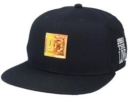 94 Chambers Hat Black Snapback - DC