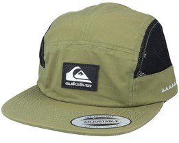 Camp Stacker Olive Branch 5-Panel - Quiksilver