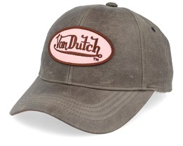 Oval Patch Wax Brown/Pink Adjustable - Von Dutch