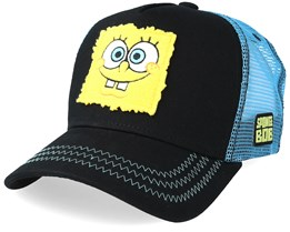 SpongeBob SquarePants Black/Blue Trucker - Capslab