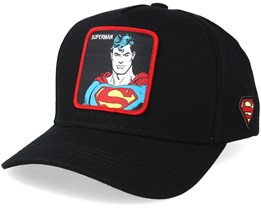 Justice League Superman Black/Red Adjustable - Capslab