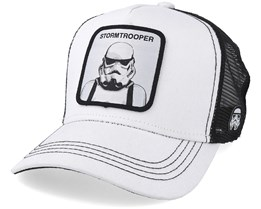 Star Wars Stormtrooper White/Black Trucker - Capslab