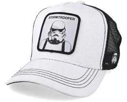 Star Wars Stormtrooper White/Black Trucker - Capslab