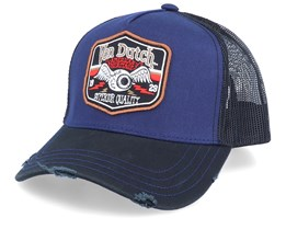 American Heritage Flying Eye Shield Patch Dark Blue/Navy Trucker - Von Dutch