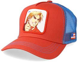 Street Fight Ken Red/Blue Trucker - Capslab