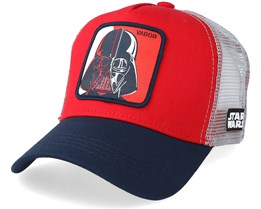 Star Wars Darth Vader Red/Grey/Navy Trucker - Capslab