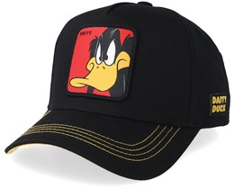 Looney Tunes Daffy Duck Black/Yellow Adjustable - Capslab
