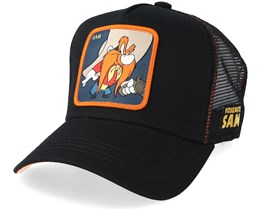 Looney Tunes Sam Black/Orange Trucker - Capslab