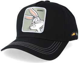 Looney Tunes Bugs Bunny Black Adjustable - Capslab